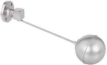 Клапан VYC 151-40/152 плоск. 350 х 130 поплавковый с поплавком арт. DR01A9132